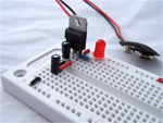 atmega8 circuit, assembling the power supply