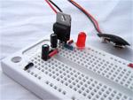 atmega8 circuit, assembling the power supply