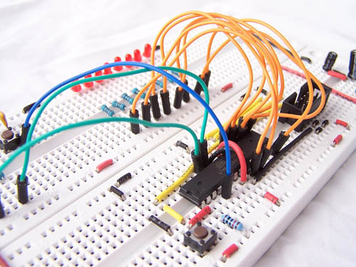 External interrupts on an atmega168 microcontroller
