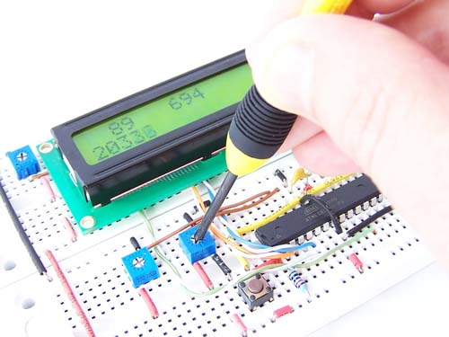 Analogue to Digital Conversion Interrupts on an ATmega168