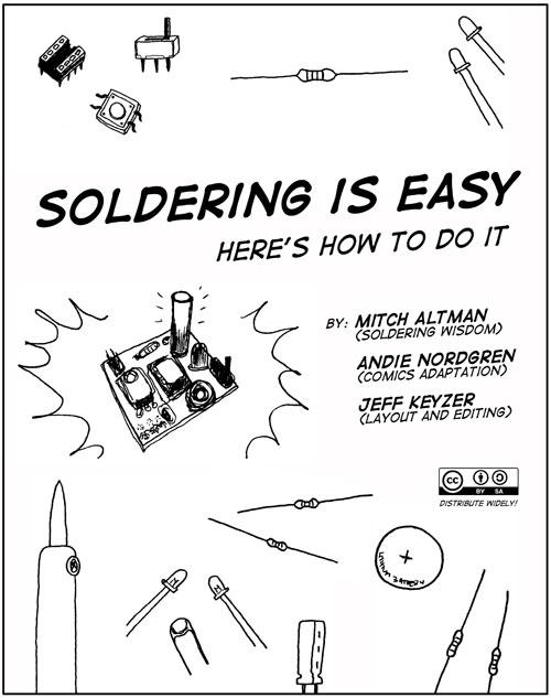 Soldering is easy