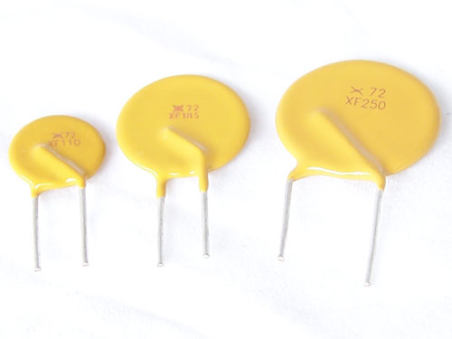 PPTC resettable fuses