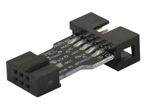 10 pin to 6 pin programming adapter