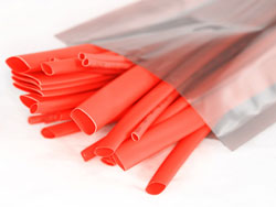 Heat shrink tubing available in range of diameters to suit your wiring requirements.