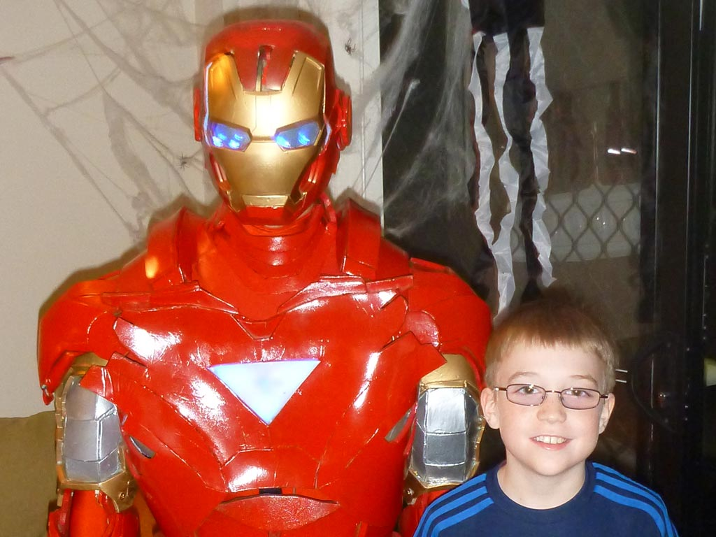how to make your own iron man suit