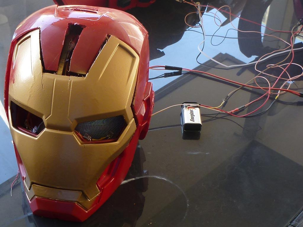 Iron Man Helmet Pattern Iron Man Helmet