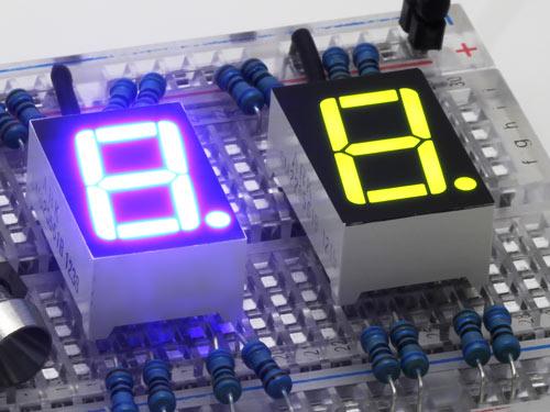 7 Segment LED displays
