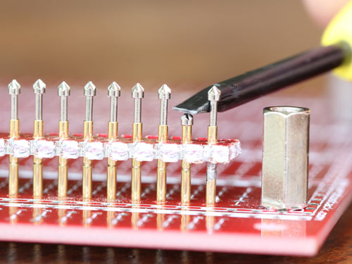 All Pogo Pins Soldered