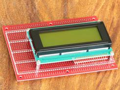 LCD Module on Board