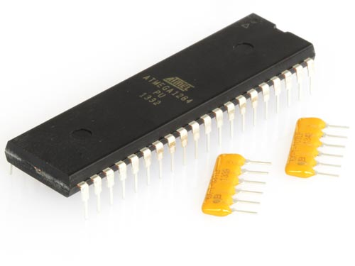 ATMega1284 and Resistor Networks