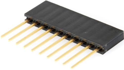 10 Pin Stacking Headers
