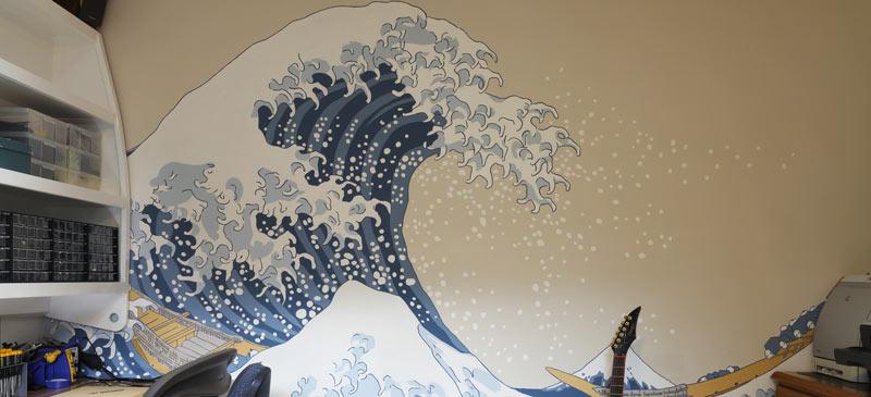 Katsushika Hokusai's Great Wave at Kanagawa